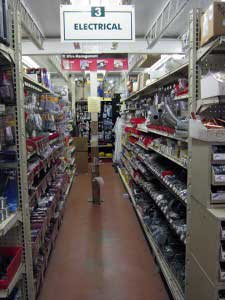 electrical hardware and supplies at Mike's